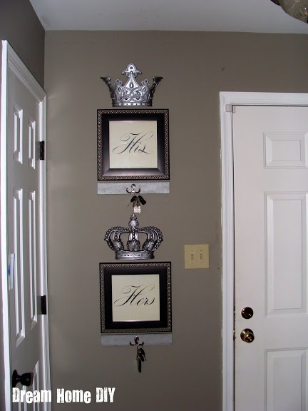 33 best images about key holders on pinterest wall mount for Bathroom decor at hobby lobby