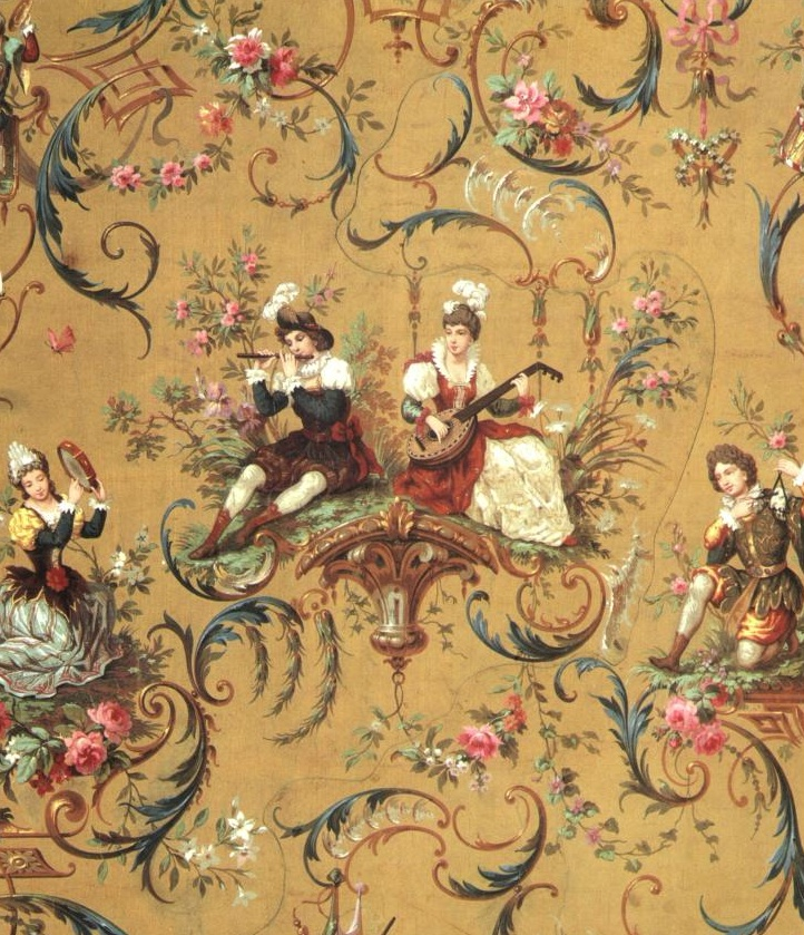 Baroque pattern.