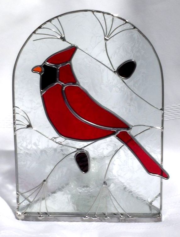 Easy Stained Glass Patterns | Imagine ... The Colors of Leaded Stained Glass