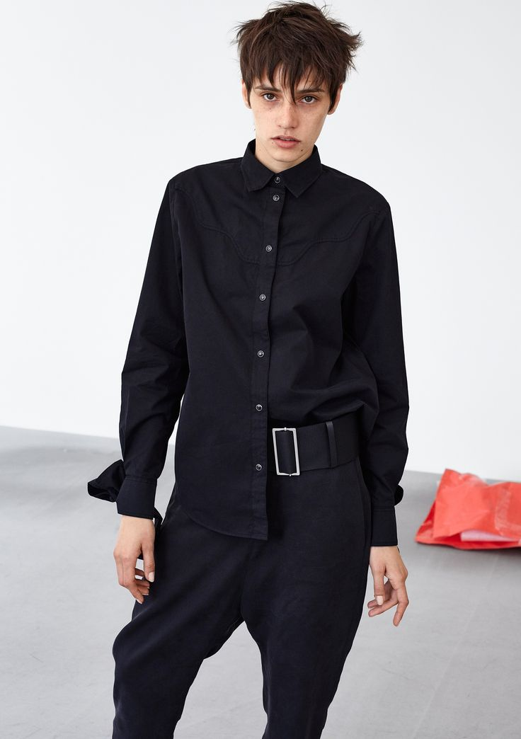 Call Cowboy Shirt - Black #HopeStockholm
