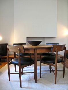 Kofod Larsen - Teak Dining Table & Chairs - Denmark