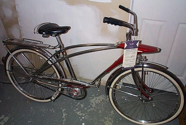 Vintage Bicycle Picture Of The Day 1965 Sears Spaceliner
