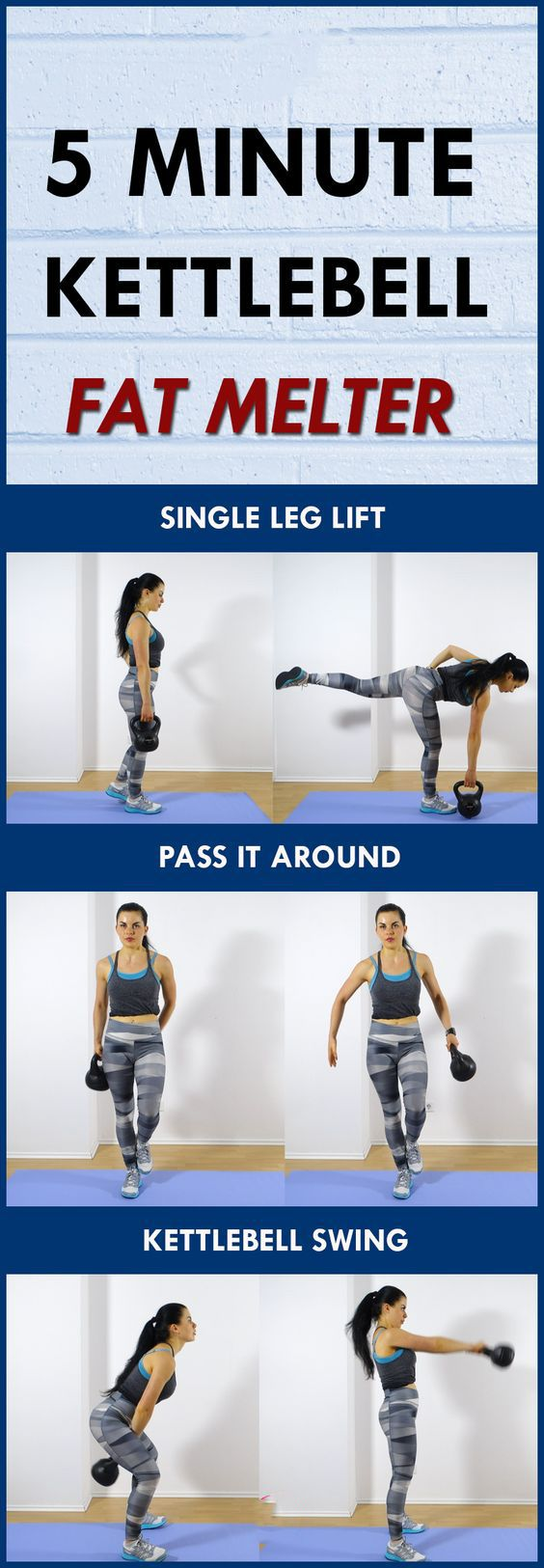 Best Kettlebell Exercises For Women (arms, glutes, back) - This kettlebell workout will burn fat fast and build lean muscle. #weightlossworkout #kettlebellworkout #workoutforwomen #burnfat https://www.youtube.com/watch?v=Q96gA6-kRZk https://www.kettlebellmaniac.com/kettlebell-exercises/