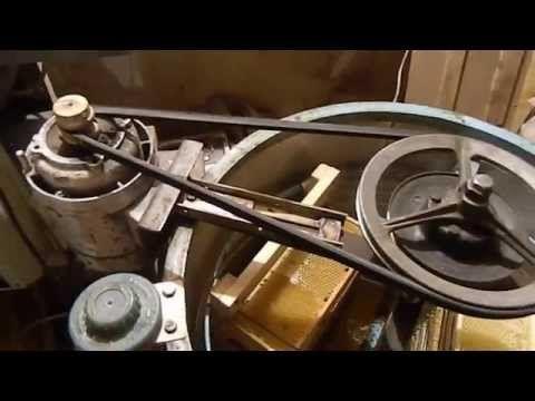 самодельный электро привод на медогонку - YouTube