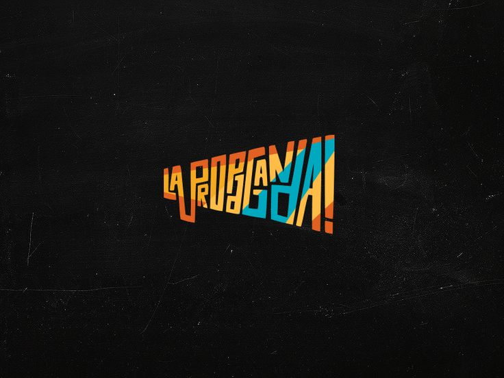 [ GIF ] La Propaganda Logo by Justas Galaburda