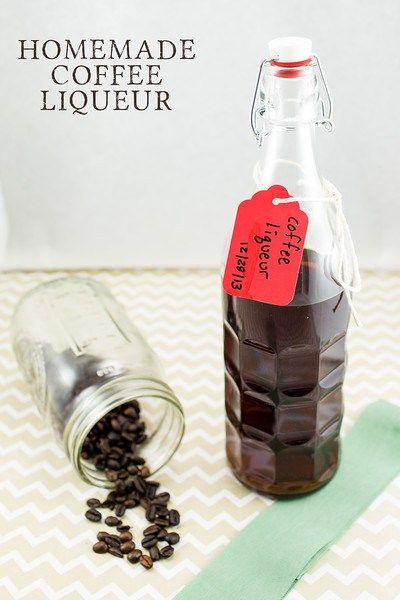 Coffee Liqueur | Recipe | Liqueurs, Coffee and Homemade