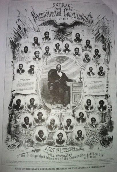 1868 Picture of Black Republican Members of Louisiana Legislature | Proximity Vision
