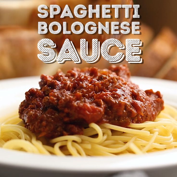 This Easy Spaghetti Bolognese Sauce Recipe is a simple take on an authentic and …  – Recipes