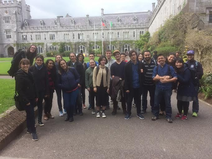 Our students visiting the University College Cork yesterday :) #Cork #UCC #Activities #CorkEnglishCollege #InstaCork #Ireland #LearnEnglish #Students #Group #Culture #StudyAbroad