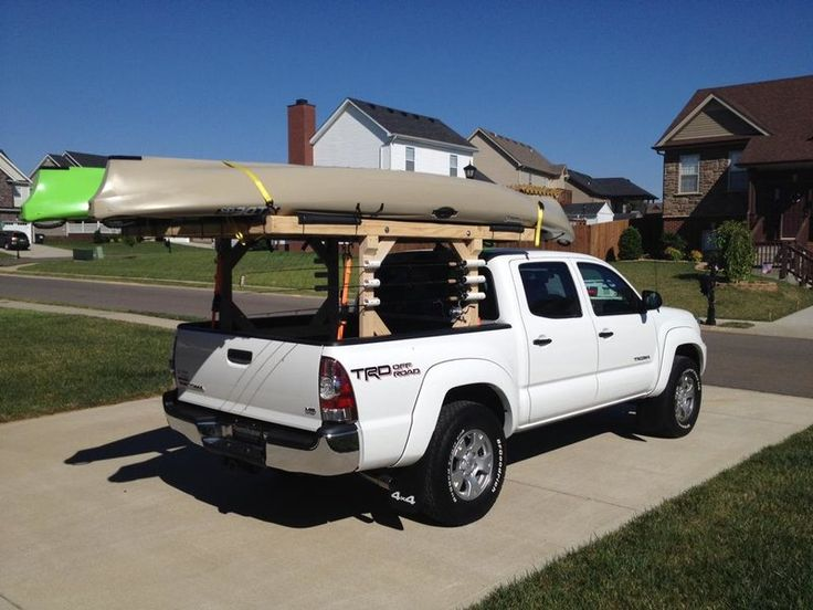 DIY Roof rack for Kayaks in 2020 Kayak roof rack, Kayak