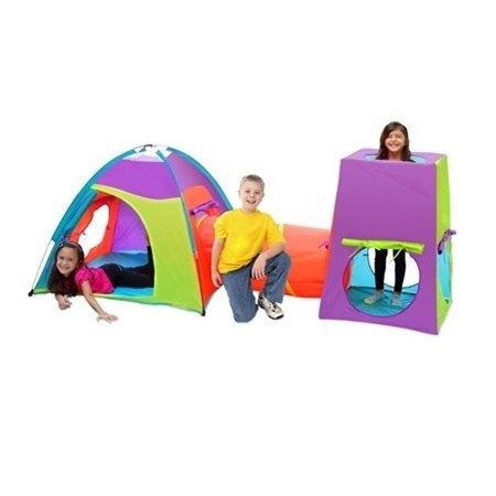 The Fun Center Play Tent Tunnel Combo for children ages 3 and older can let their  sc 1 st  Pinterest & 26 best Play Tents and Tunnels for Kids images on Pinterest | Play ...