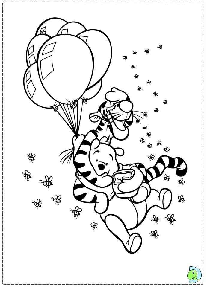 Tigger Color Book Pages