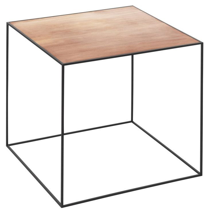 Urban Couture | By Lassen Cube Twin Side Table- Copper and Black | Urban Couture - Designer Homewares & Furniture Online