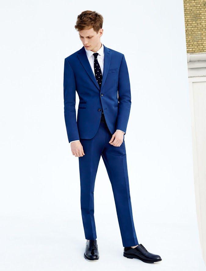 22 best Wedding Suits images on Pinterest   Blue suits, Blue suit ...