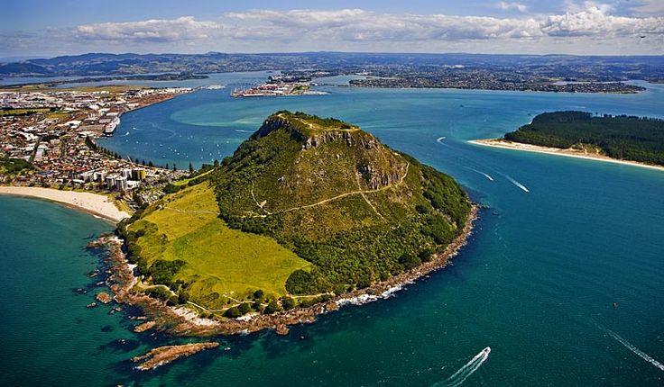 Mount Maunganui, Tauranga beyond, see more at New Zealand Journeys app for iPad www.gopix.co.nz