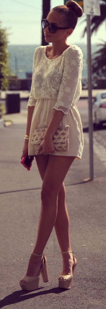 Lovely lace - Kenza Zouiten