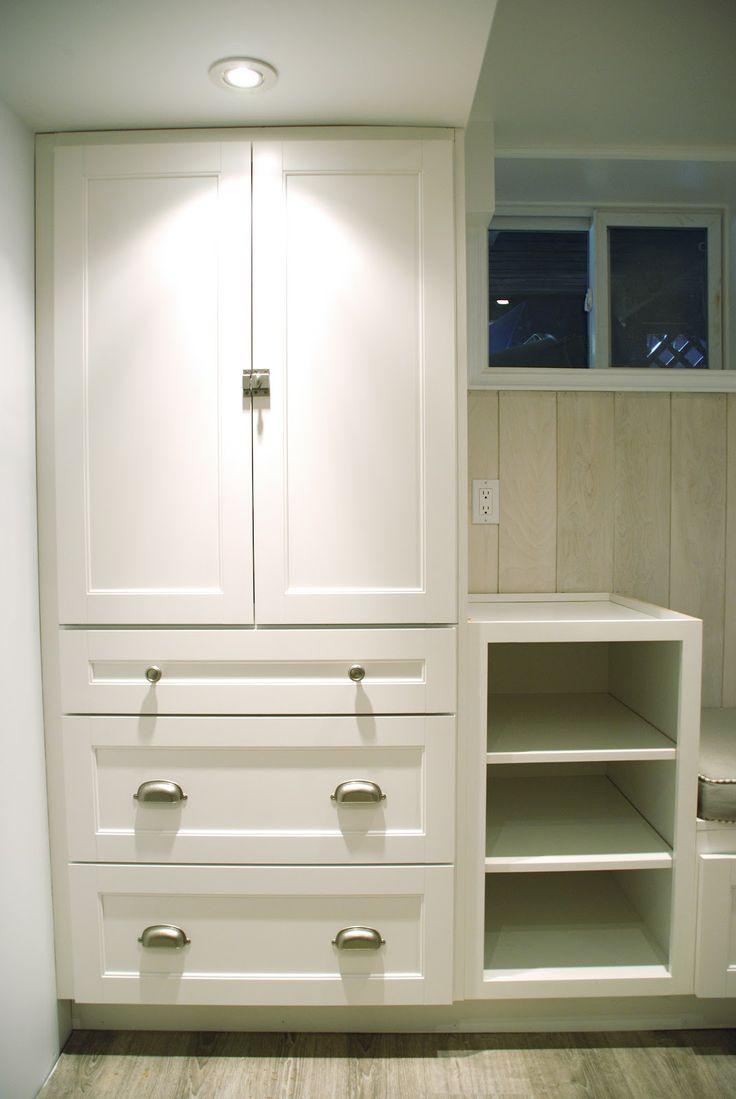 Martha Stewart Cabinet for bathroom reno comes in gray