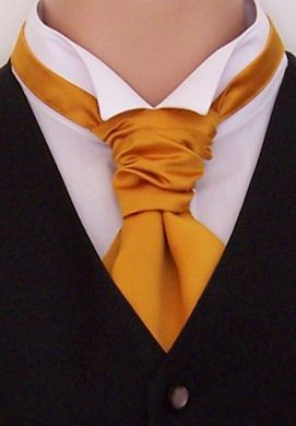 The other cravat is for hire in the UK only. This one is for sale. Its lighter than the other one. What do you think?