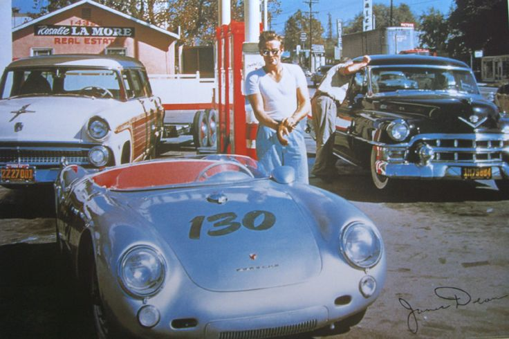 James Dean And His Quot Little Bastard Quot Porsche 550 Spyder