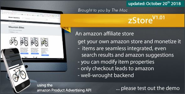 zStore - an amazon affiliate Store Nulled | Nulled Wordpress Themes