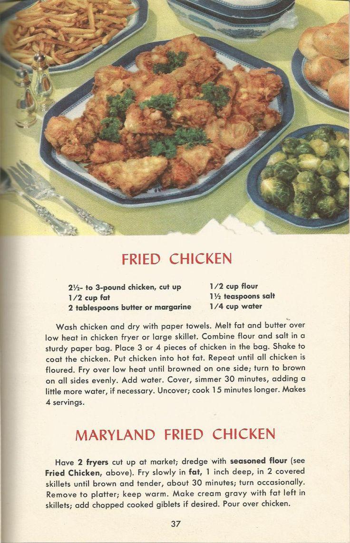 2508 Best Vintage Recipes Images On Pinterest