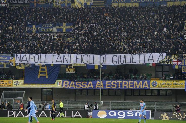 """FOTO TN - I veronesi """"auto-insultano"""" un loro simbolo: """"Napoletani figli di Giulietta!"""" - Tutto Napoli"""