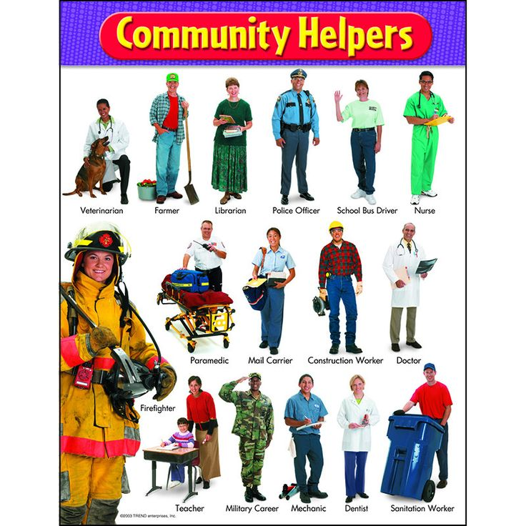 42 best Community Helpers images on Pinterest | Community helpers ...