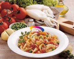 Orecchiette con seppie e piselli | Cucinare Meglio
