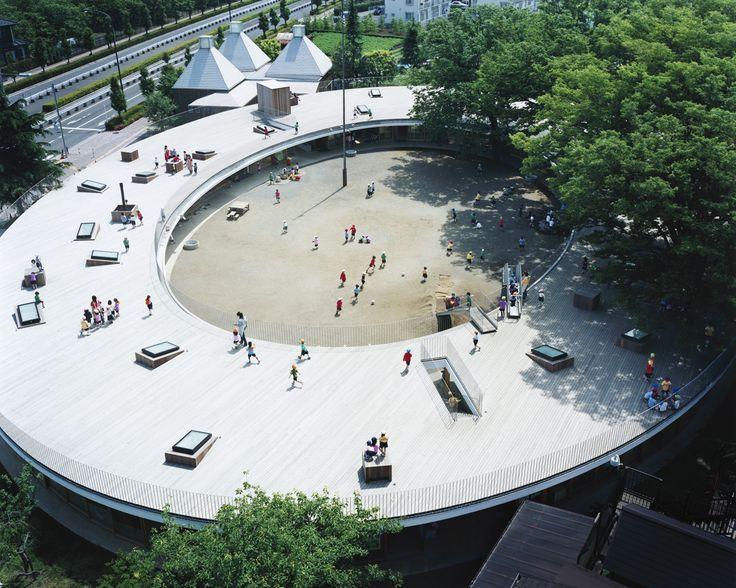 Kinder Garden: W-T-L.21: The Fuji Kindergarten (Ring Around The Tree