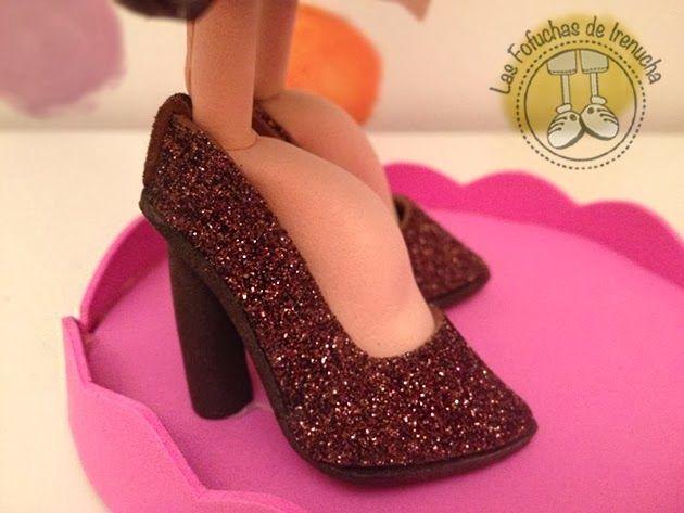 Vanesa #fofucha #vestido #gomaeva #regalo #zapatos