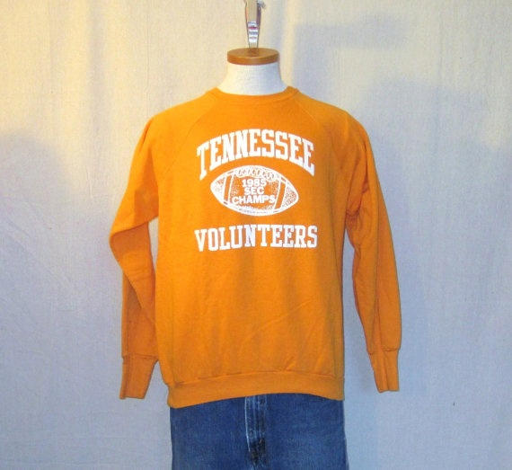 90s Vintage University of Tennessee Volunteers UT Hoodie Crewneck Sweatshirt Pullover Comfy Sweater Jumper - Unisex Medium e3Z4ZN8FV