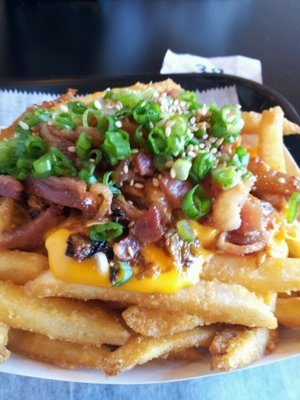 Bop N Grill......Kimchi Fries. A must get!