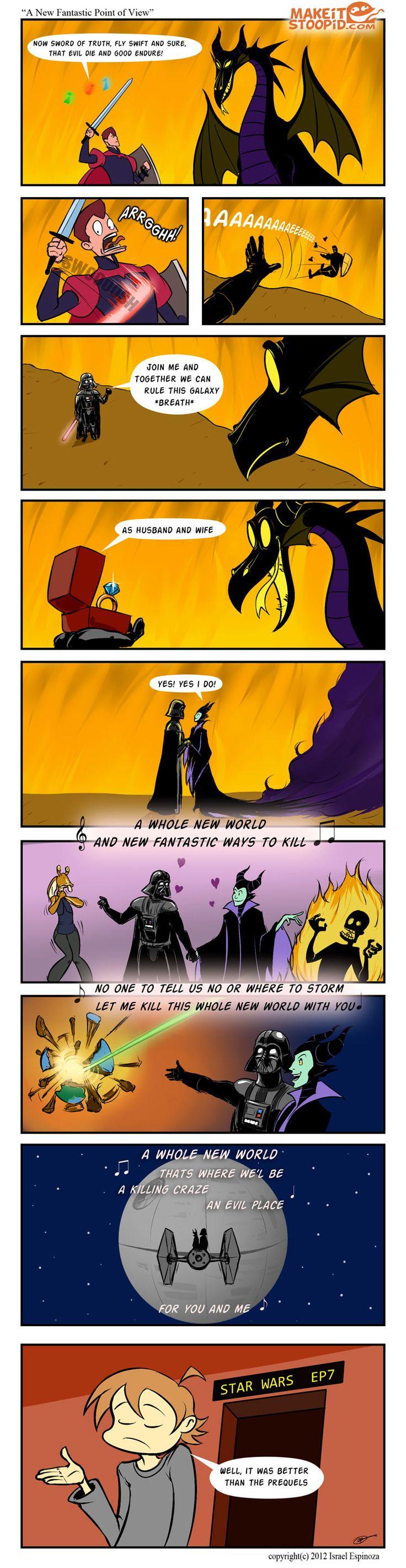 Disney's Star Wars. -D