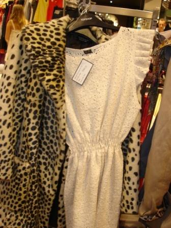 the outfit,leopar winter coat,cotton dress by fashion designer/Stylist Marlen Vitorno