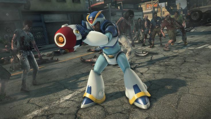 Dead Rising 3 - Mega Man X outfit and X-Blaster trailer