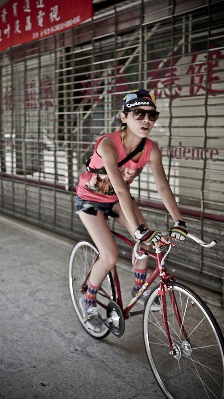 FIXED GEAR GIRL TAIWAN: FGGT RITA