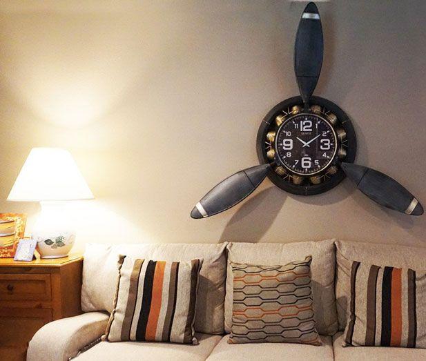 Airplane Propeller Wall Clock Propeller Wall Airplane Clock Clock