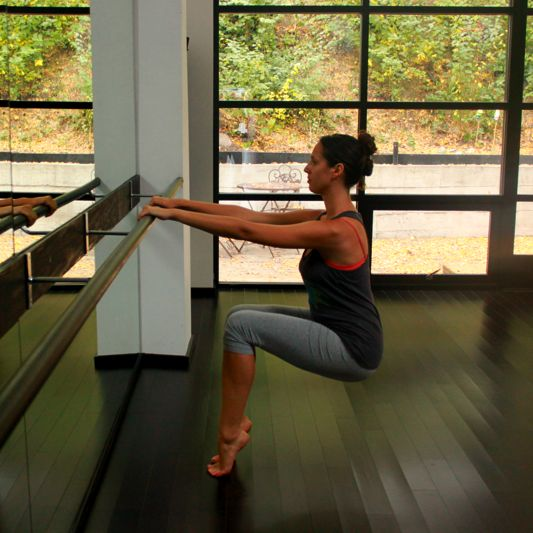 Thigh Burner: Sit in Chair, Minus the Barre