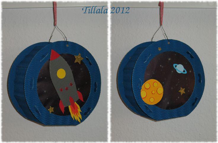 Himmelblau und Sommerbunt: Laterne, Laterne, Rakete, Mond und Sterne ...