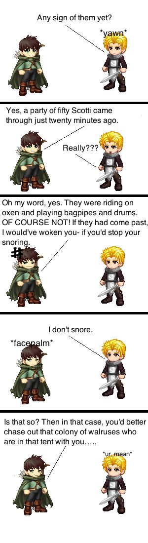 I Don't Snore ( a RA tektek comic ) by Lil-Treaty.deviantart.com on @deviantART