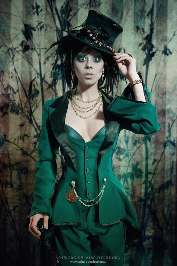 The portrait: Mad Hatter by =Ophelia-Overdose on deviantART