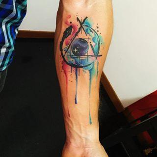 watercolor tattoo man - Cerca con Google