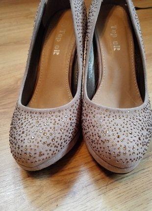 Kup mój przedmiot na #vintedpl http://www.vinted.pl/damskie-obuwie/polbuty/14349626-czolenka-na-obcasie-blyszczace-cekiny-nie-wysokie