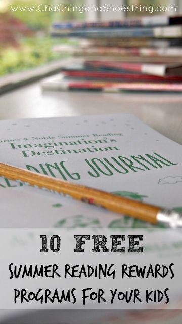 Best Free Summer Reading Rewards Programs for Kids