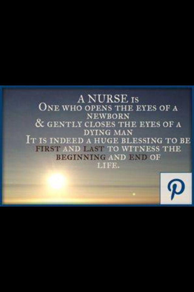 Happy Nurses Week to all of my