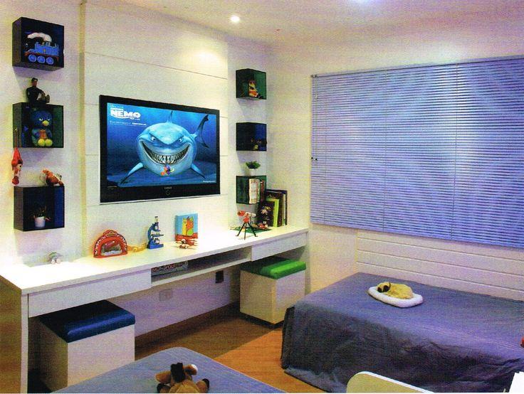 42 best images about quarto jovem on Pinterest Mesas  ~ Bancada Tv Quarto