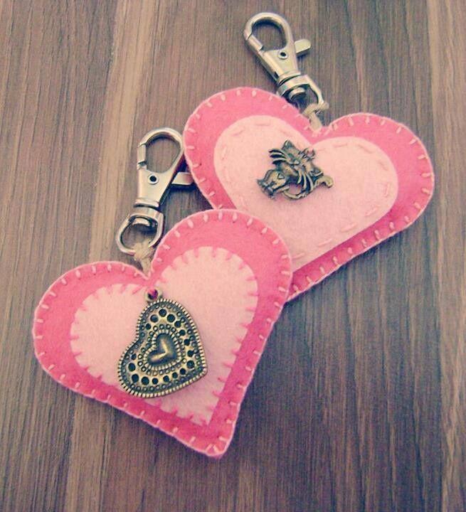 pink key holders