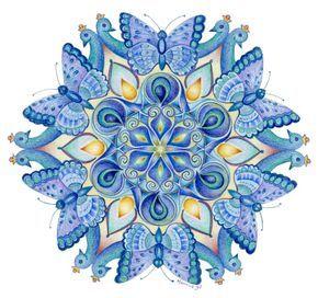 Mandala's tekenen met Hannie de JongPicture 55 «   Mandala's