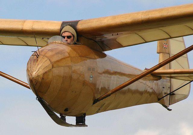 Vintage Glider plane
