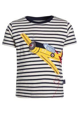 Köp JoJo Maman Bébé HARVARD PLANE - T-shirt med tryck - ecru/navy för 199,00 kr (2017-02-18) fraktfritt på Zalando.se